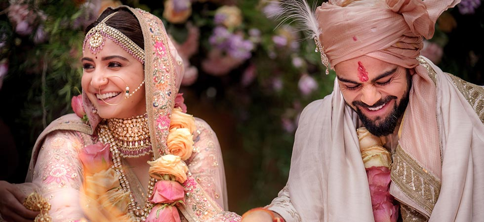Anushka Sharma & Virat Kohli are a married couple now! #Virushka is #CoupleGoals