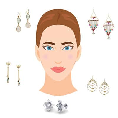 How to choose Earrings according to your Face Shape
