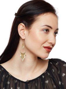 Silver Oxide Tassels Handmade Western Earrings