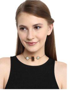 Smoky Quartz Ethnic Fashion Necklace