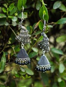 Blossom Design Tribal Jewellery Jhumki Earrings