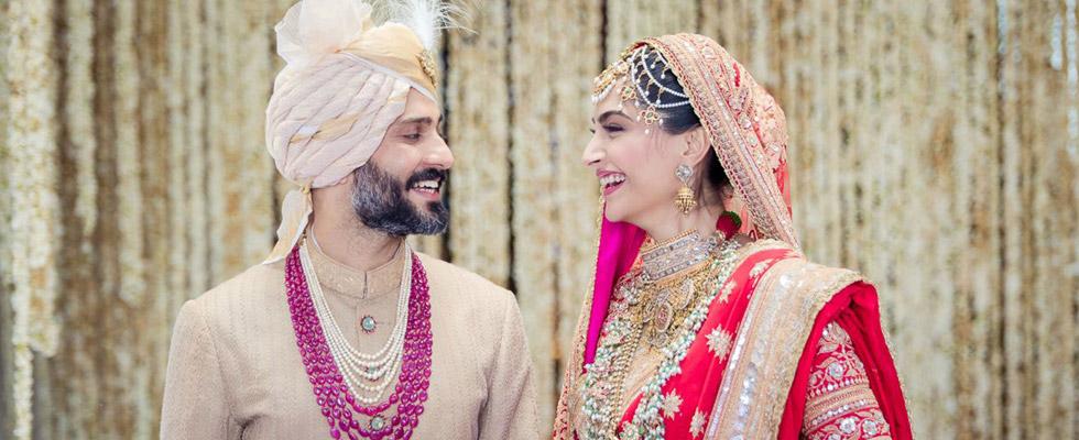 Everything you need to know about Sonam's Wedding Looks #sonamkishadi 1