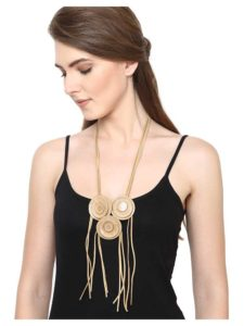Tassels and Toasts Statement Necklace