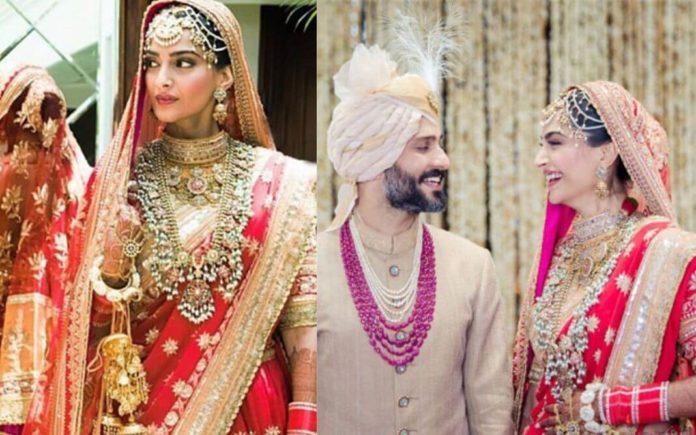 Sonam's wedding looks