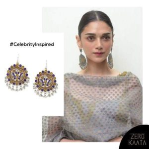 Look adorable like Aditi Rao hydari in Chandbali earrings