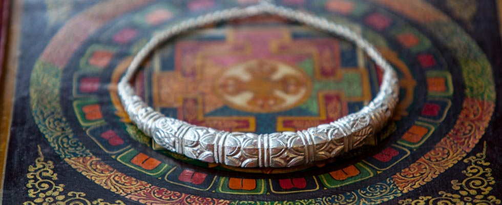 Traditional jewellery of Uttrakhand-hamsuli