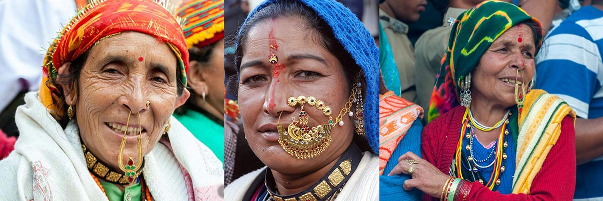 Traditional jewellery of Uttrakhand