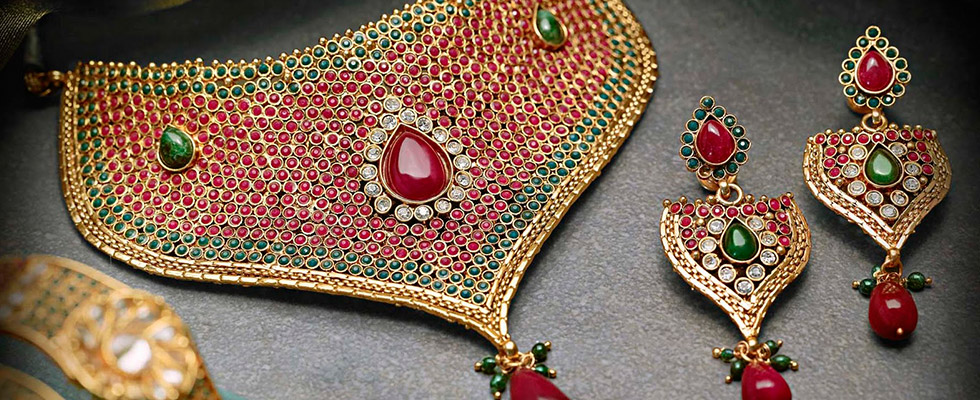 Traditional jewellery of Rajasthan-lac jewellery