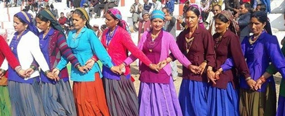 Traditional Attire and Jewellery of Uttrakhand-kamaon women