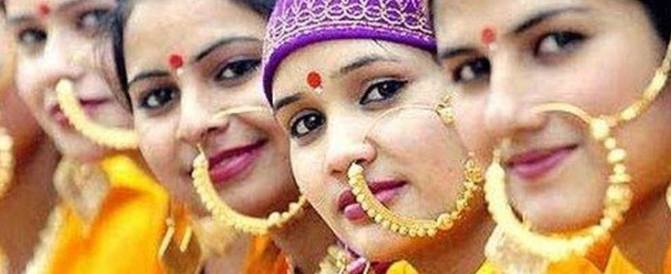 Traditional Attire and Jewellery of Uttrakhand-nath