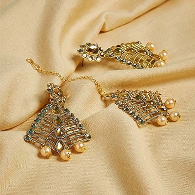 Maang Tika Jewellery Set for Wedding