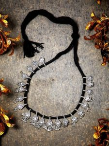 Trinkets And Tales Oxidized Tribal Jewellery Necklace