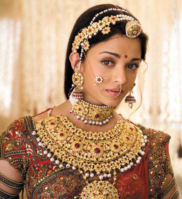 Traditional jewellery of Rajasthan-kundan jewellery