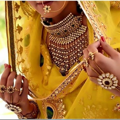 Traditional jewellery of Rajasthan-aad