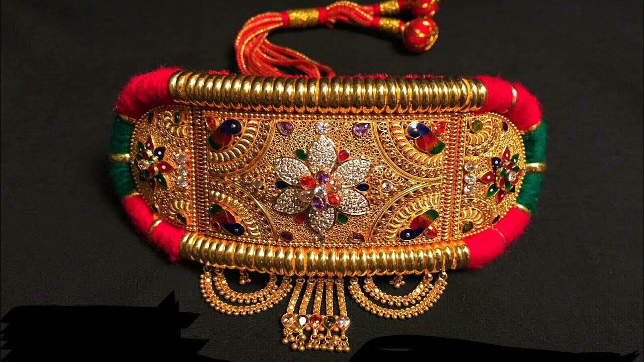 Traditional jewellery of Rajasthan-bajubandh