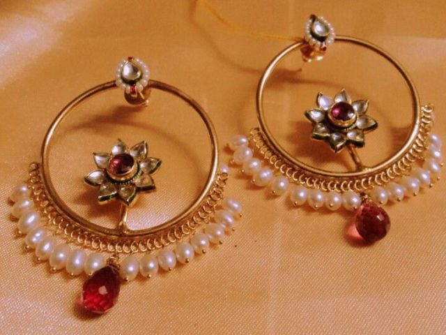 Traditional jewellery of Rajasthan-kaanbali