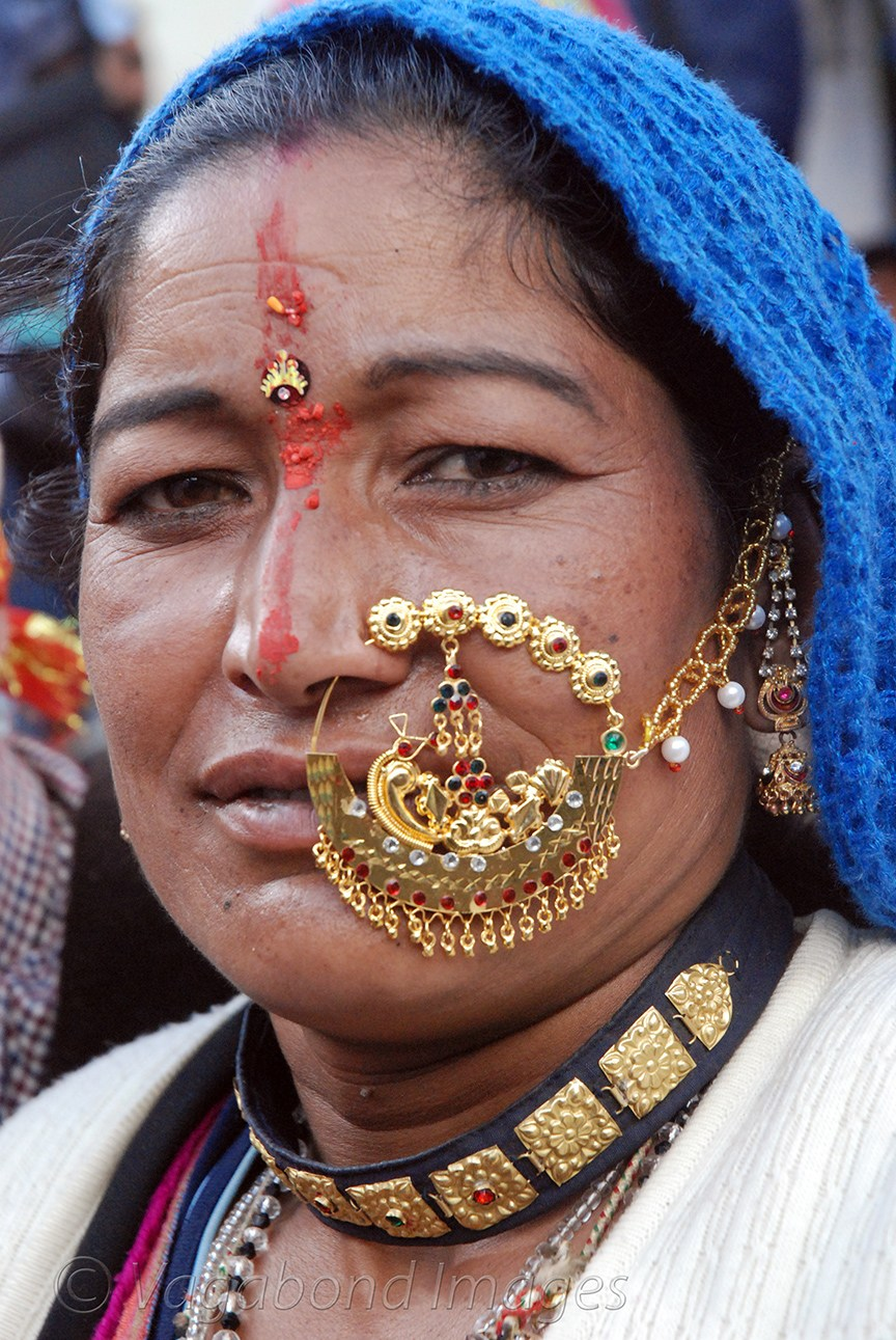Traditional jewellery of Uttrakhand-nathuli