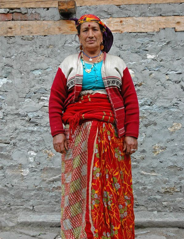 Traditional Dress Of Uttarakhand