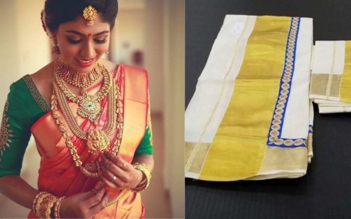 kerala jewellery and attire