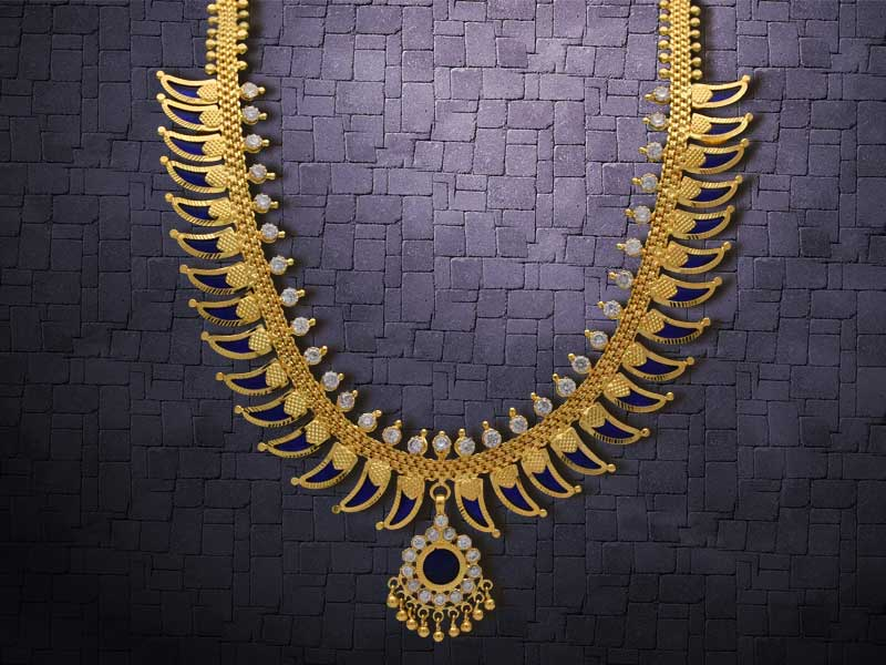 Traditional Jewellery of Kerala-Pulinakham Mala