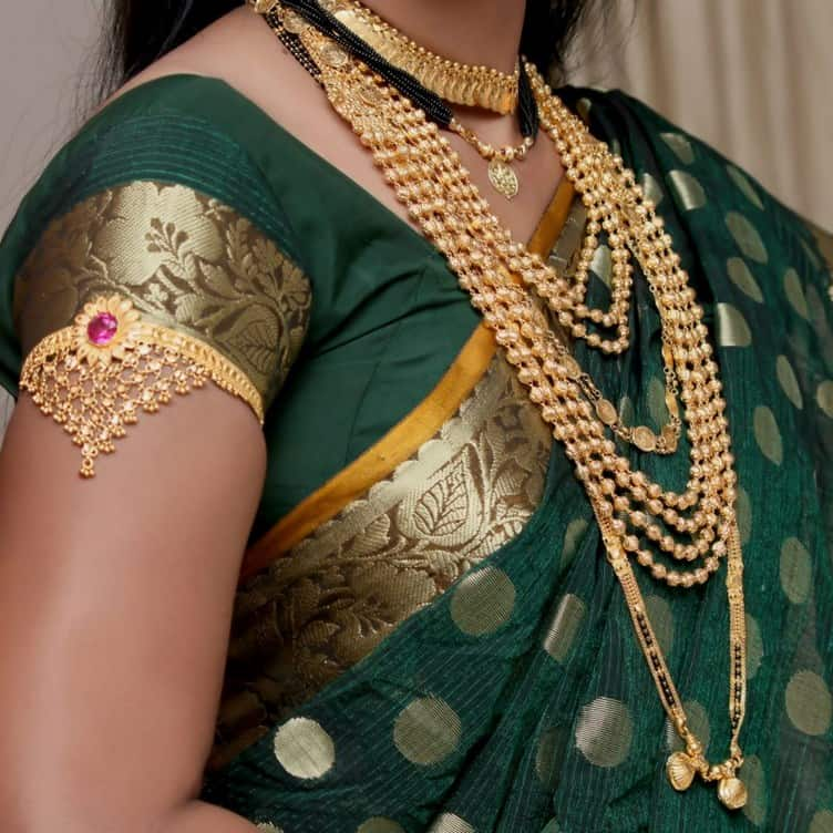 Traditional Jewellery of Maharashtra-kolhapuri saaj