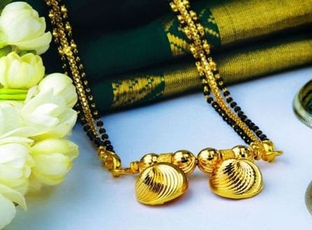 Traditional Jewellery of Maharashtra-mangalsutra