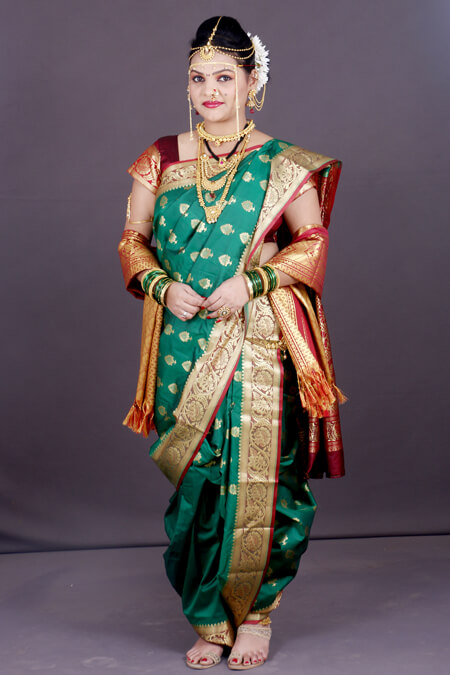 Maharashtrian Jewellery and attire