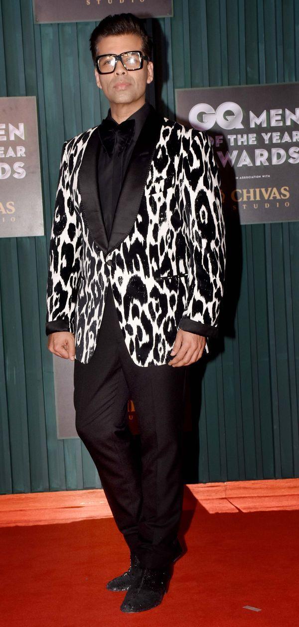 Karan Johar at GQ Men of the year 2018 Awards