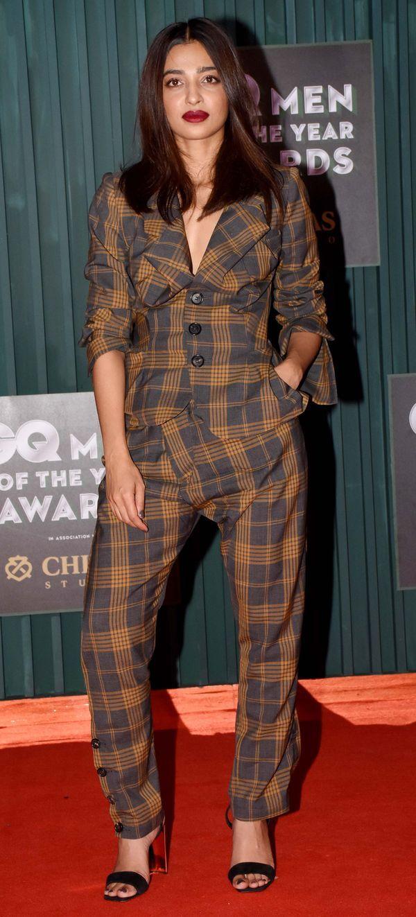 Radhika Apte at GQ Men of the year 2018 Awards