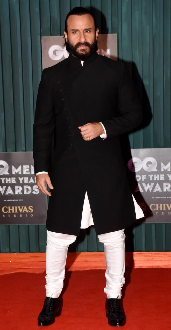 Saif Ali Khan at GQ Men of the year 2018 Awards