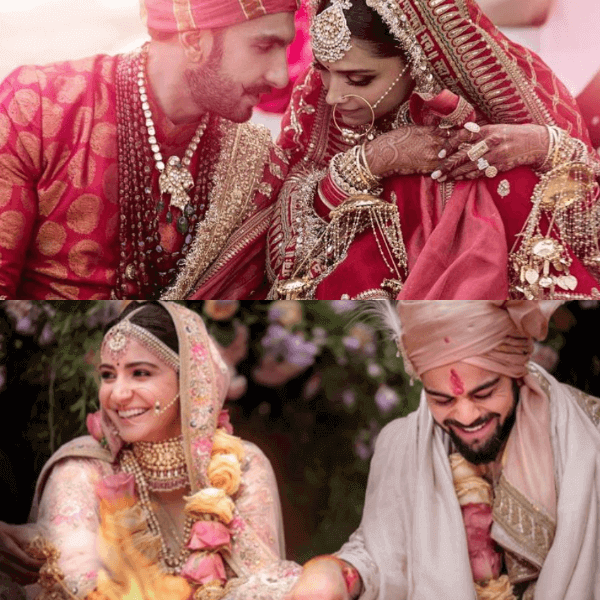 similarities between Virushka and DeepVeer Wedding
