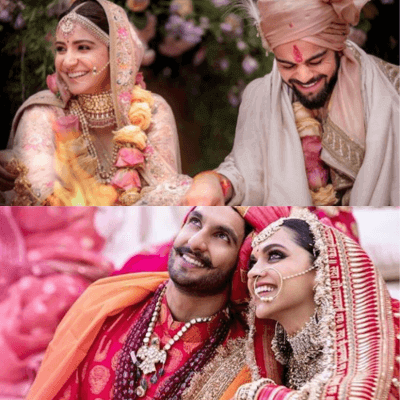 Wedding Destination Lately, everybody is rushing to Italy for weddings just like Virushka and DeepVeer did. While Virat and Anushka tied the knot at Tuscany in Italy, DeepVeer took their vows at Lake Como in Italy. Did you know that Deepika and Ranveer's wedding venue was just 387 kilometers away from that of Virshuka's wedding venue?