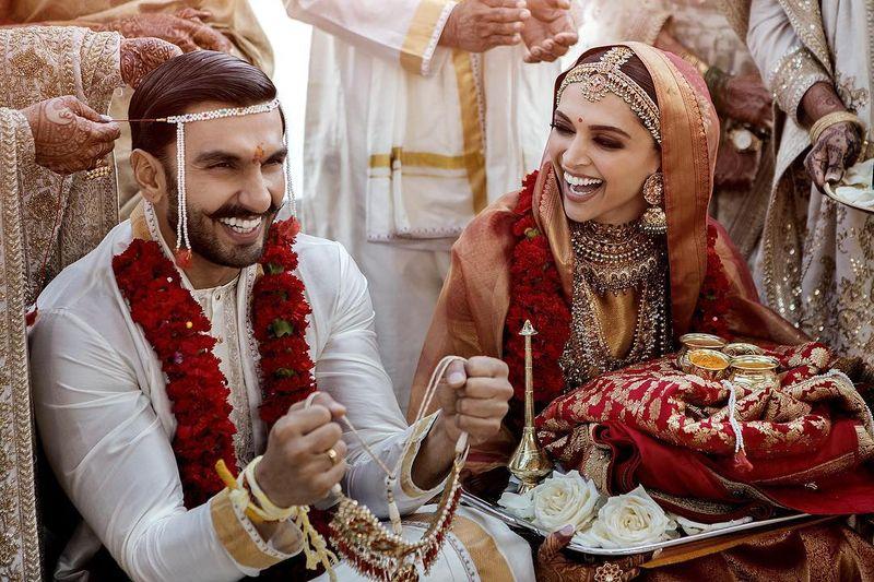 Bajirao ne mastani se shadi ki hai: DeepVeer's Wedding Pictures are just too cute to handle