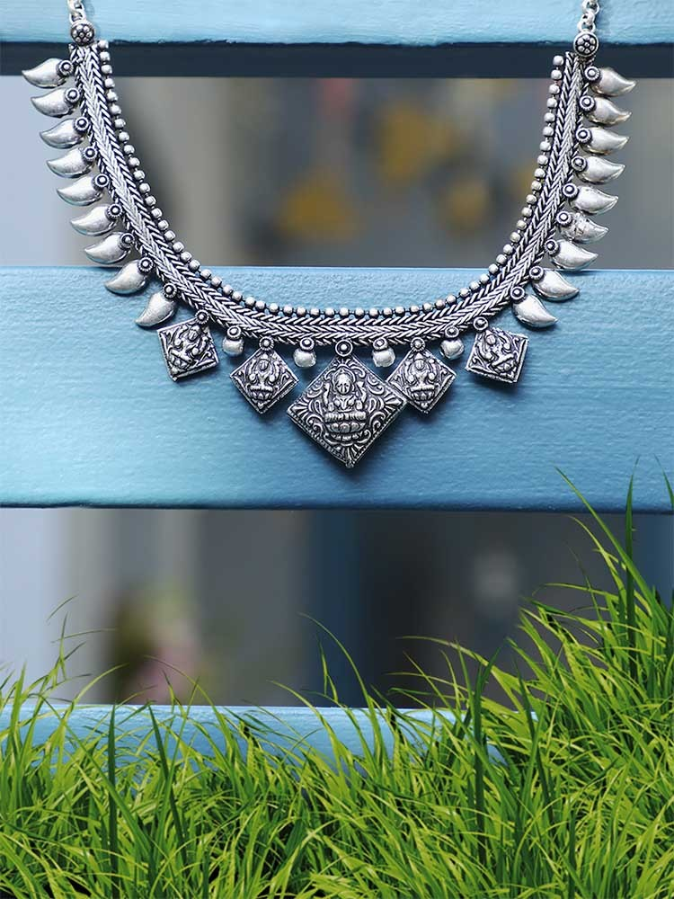 Amazing Oxidized Silver Necklaces Under Rs 500 1