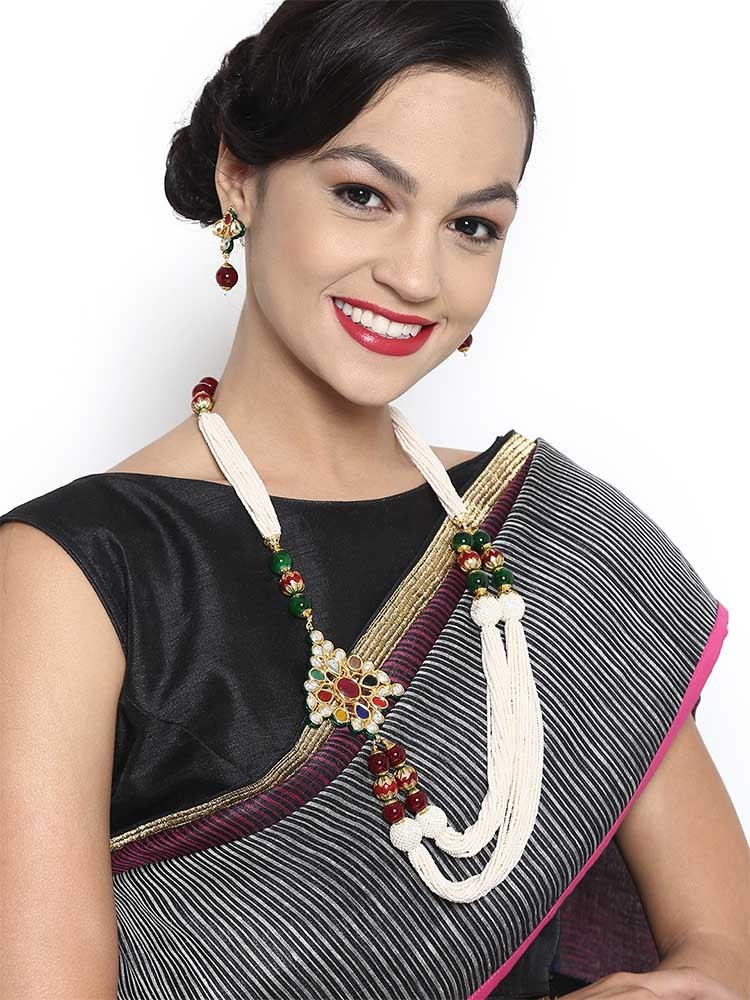 STATEMENT NECKLACES TO SPRUCE UP YOUR SAREE 1