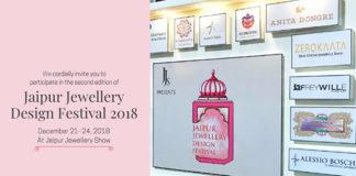 GEMS GALORE IN JAIPUR JEWELLERY DESIGN FESTIVAL 2018