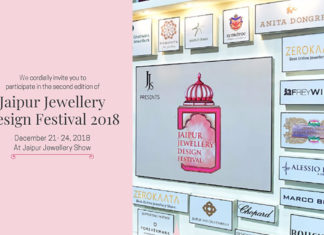 GEMS GALORE IN JAIPUR JEWELLERY DESIGN FESTIVAL 2018