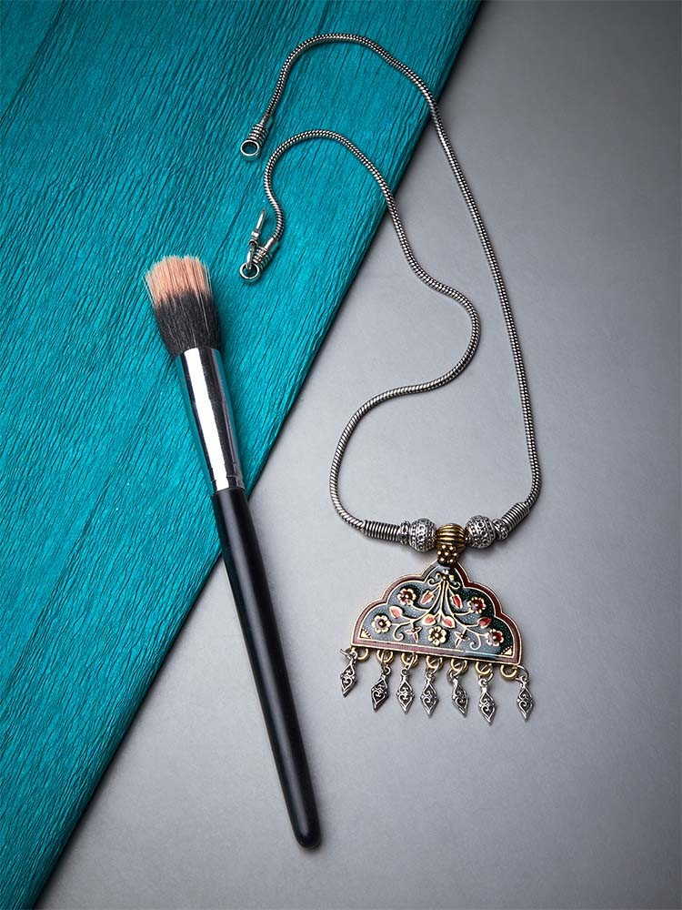 Amazing Oxidized Silver Necklaces Under Rs 500 2