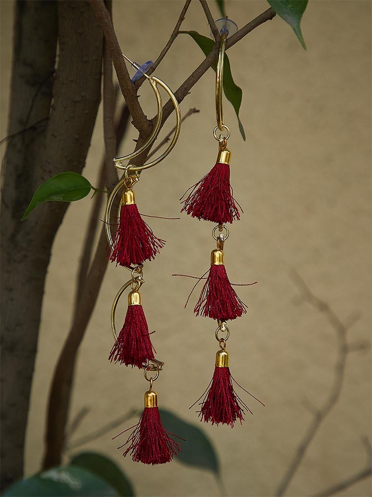 TRENDY TASSEL EARRINGS TO GLAM UP ANY OUTFIT 3