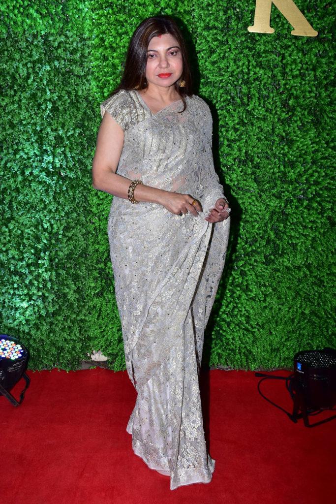 Bollywood Glitters at Lyricist Sameer's Daughter's Wedding Reception 2