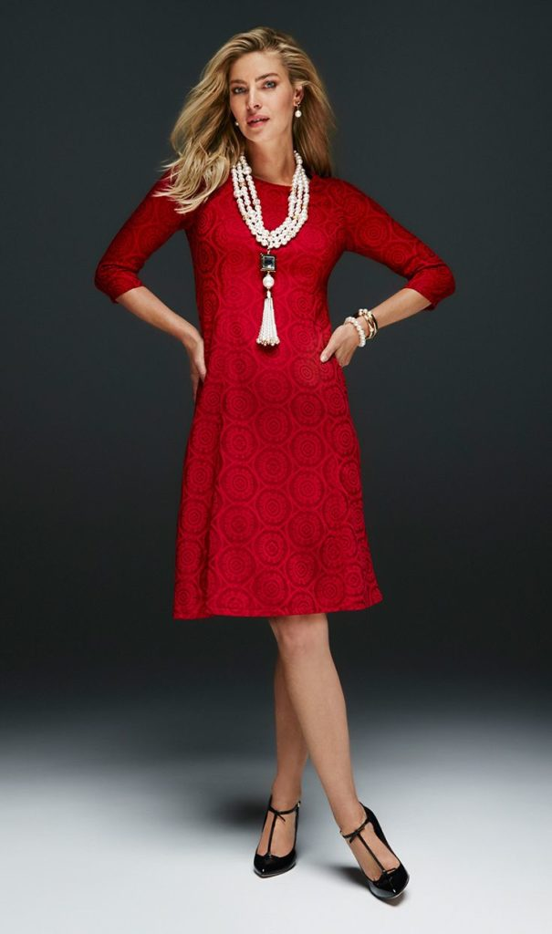 How To Style Your Red Dress For Valentines Day 1