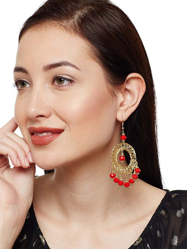 Amazing Red Earrings To Flaunt This Valentines Day 3