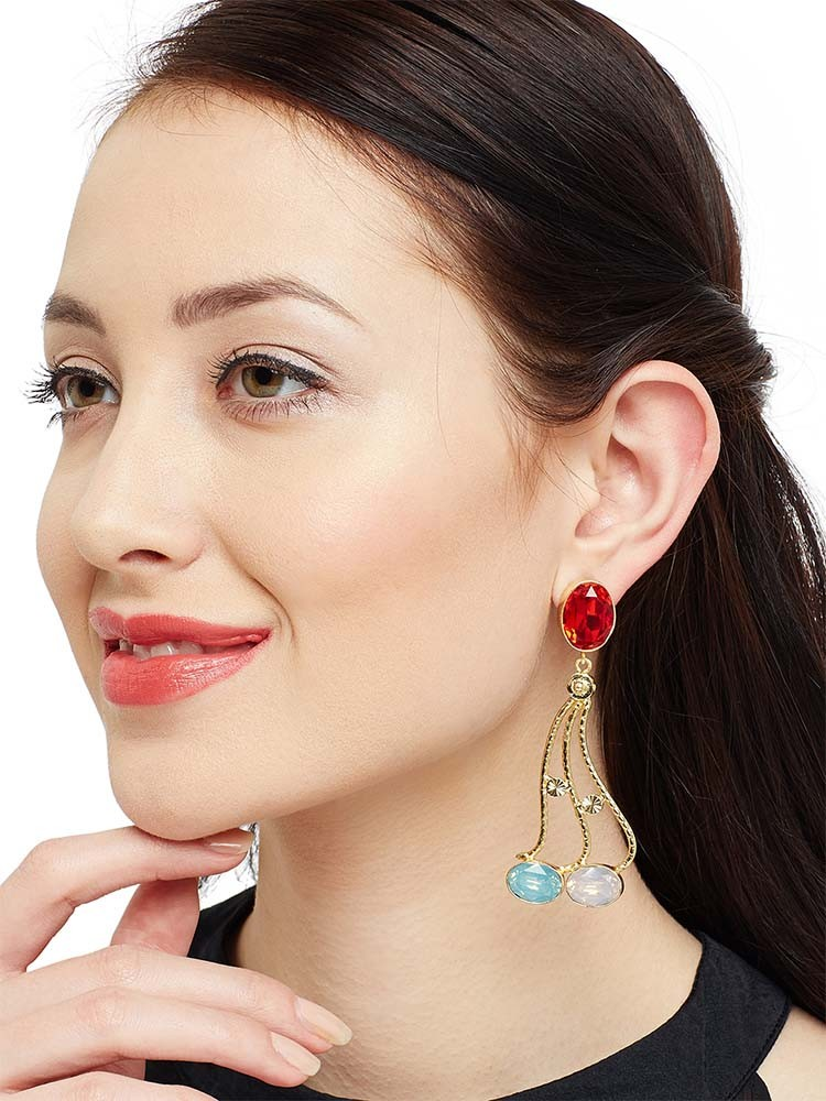 Amazing Red Earrings To Flaunt This Valentines Day 2