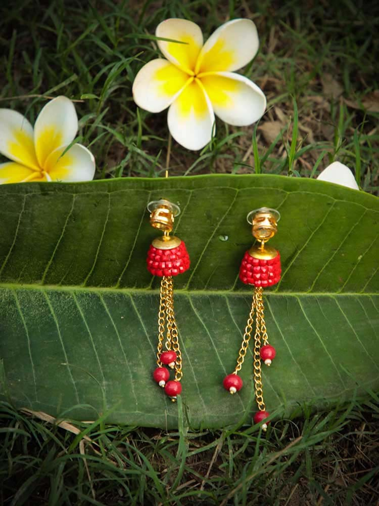 Amazing Red Earrings To Flaunt This Valentines Day 4