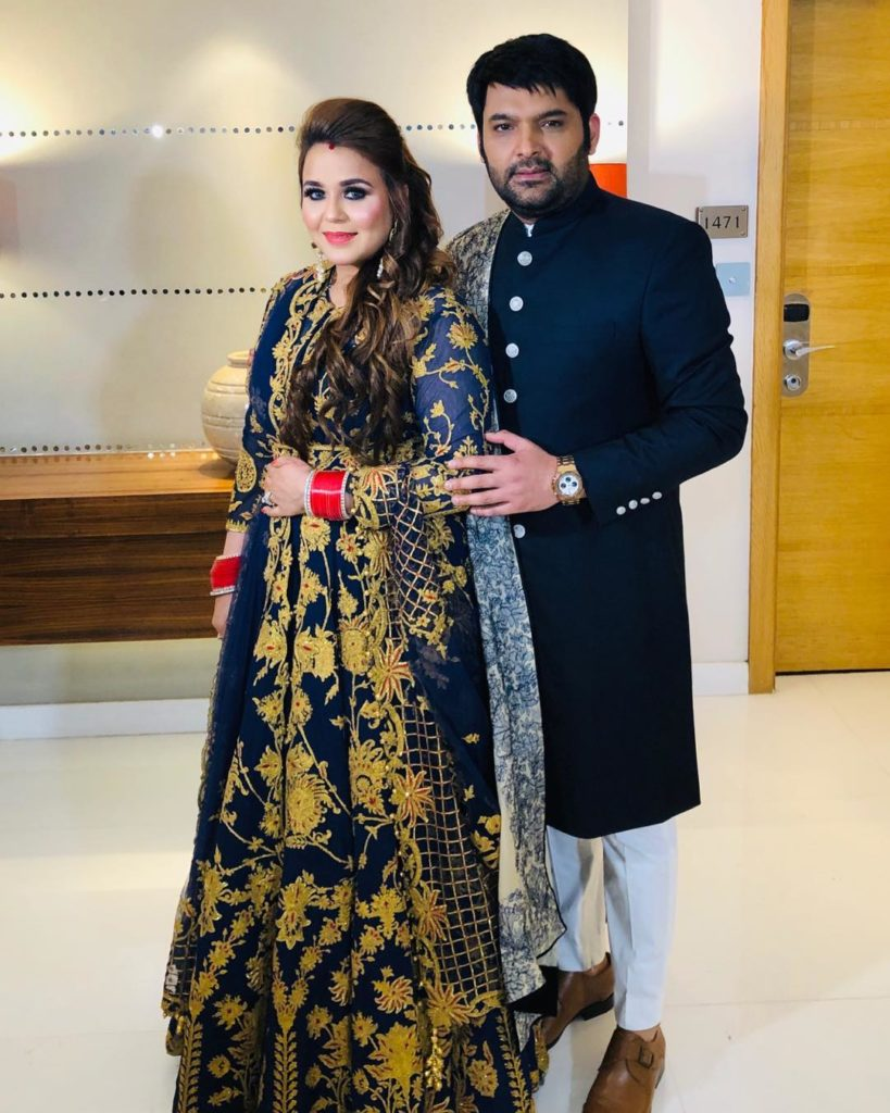 Inside Pics Of Kapil Sharma and Ginni's 3rd Wedding Reception 1