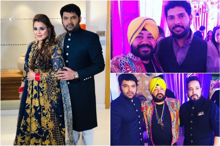 Inside Pics Of Kapil Sharma and Ginni's 3rd Wedding Reception 2