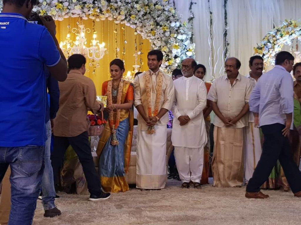 Inside Pics of Rajnikanth's Daughter Soundarya's Wedding 3