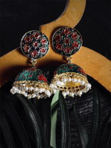 meenakari earrings online