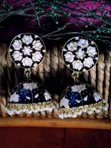 buy meenakari earrings