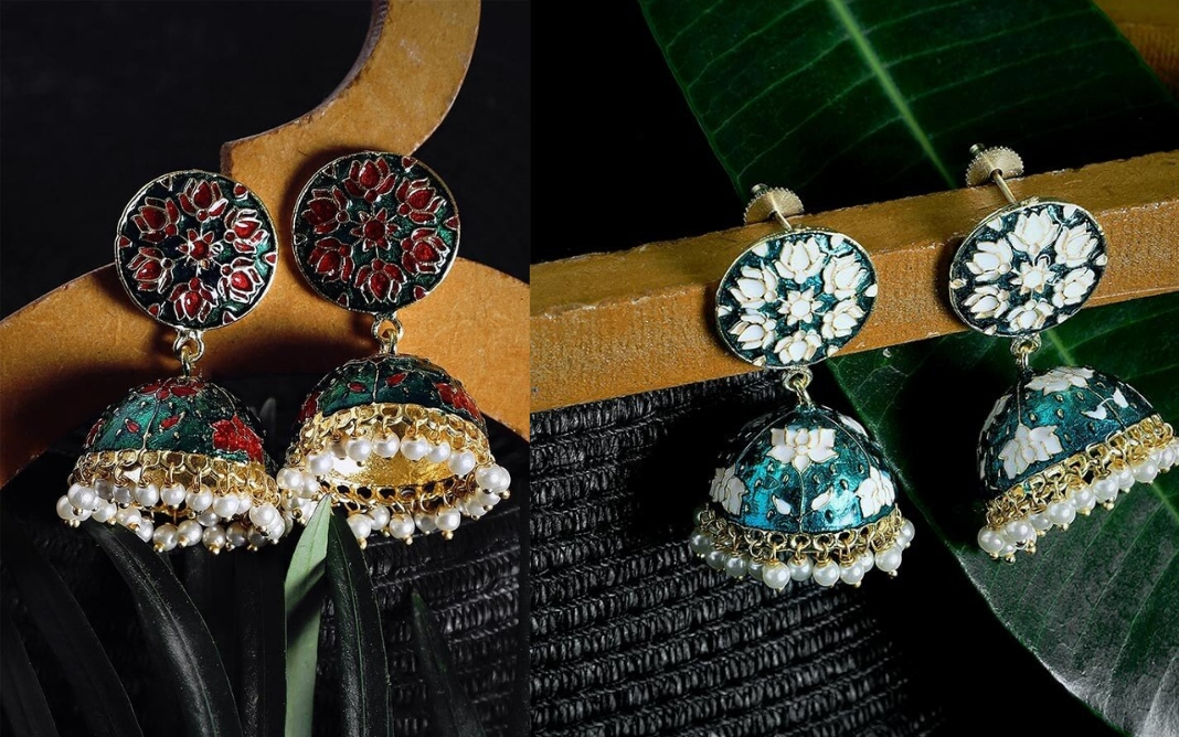 abfa330a2 We Bet You Didn't Know About This About Meenakari Jewellery ...